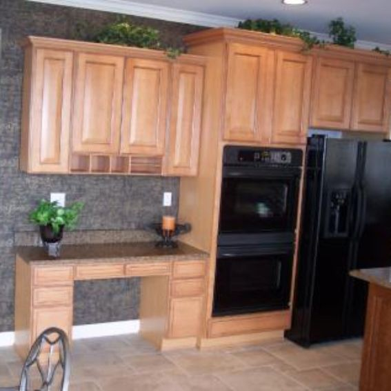 Solid Wood Cherry Kitchen Cabinets: Custom Made Cherry Kitchen Cabinets