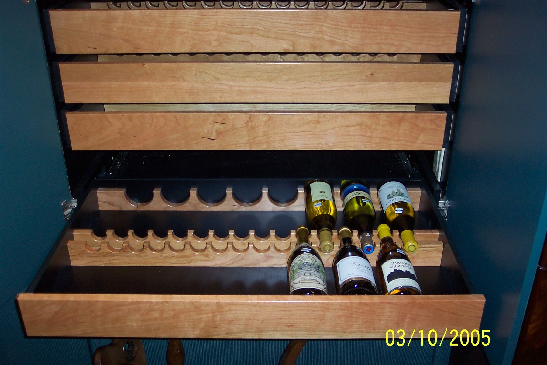 Handmade Wine Storage Drawers By Constructive Ideas
