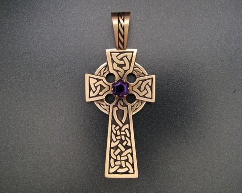 Custom Made 10k Gold Celtic Cross
