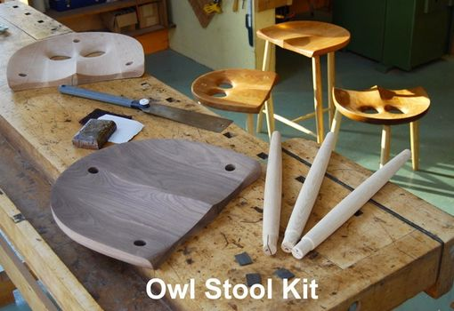 Custom Made The Owl Stool 24""