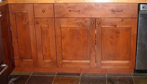 Custom Made Knotty Alder Kitchen