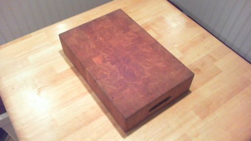 Custom Made Butcherblock Cutting Board - End Grain