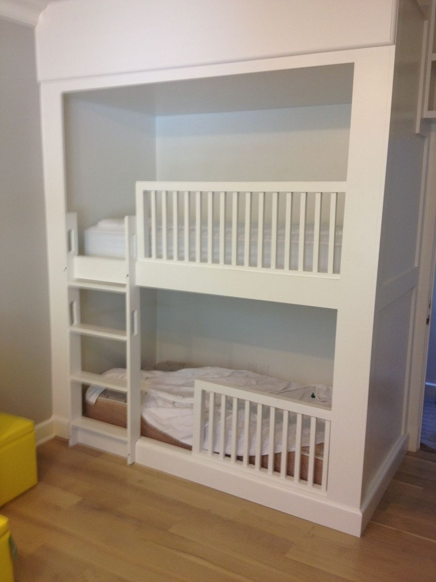 hand crafted built in bunk beds by bk renovations inc
