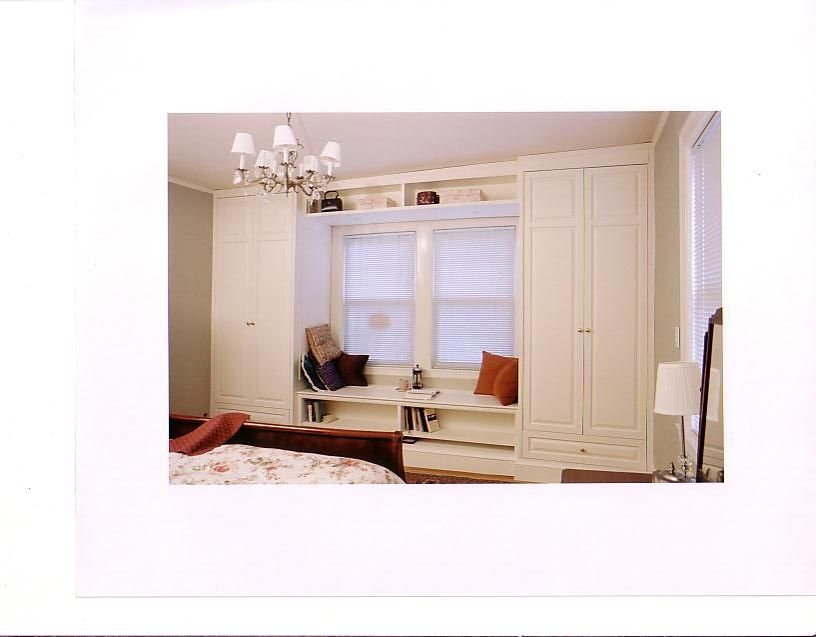 Handmade Combination Closet And Window Seat By Case By Case Cabinets Custommade Com