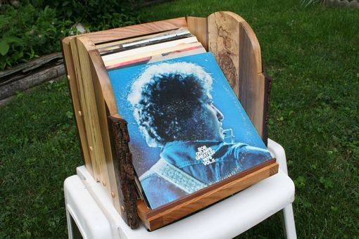 Custom Made Record Album Holder
