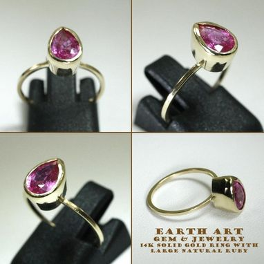 Custom Made Gold Setting For Your Gemstone
