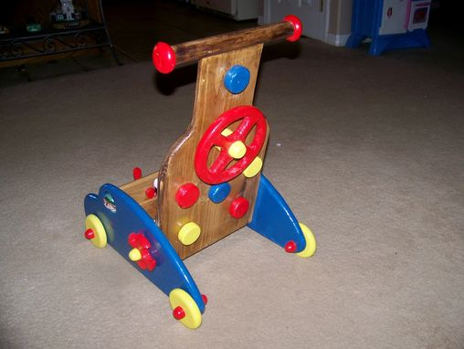 Custom Made Baby Walker Toy