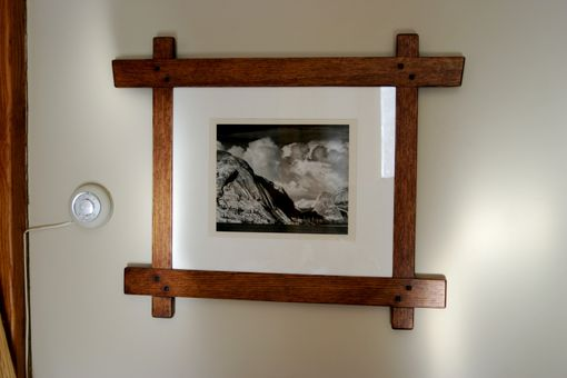 Custom Made Greene & Greene Influenced Picture Frame