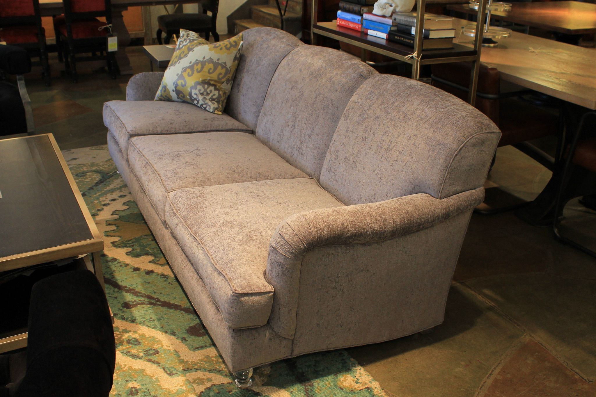 Buy a hand made downtown sofa floor model made to order for Buy floor sofa