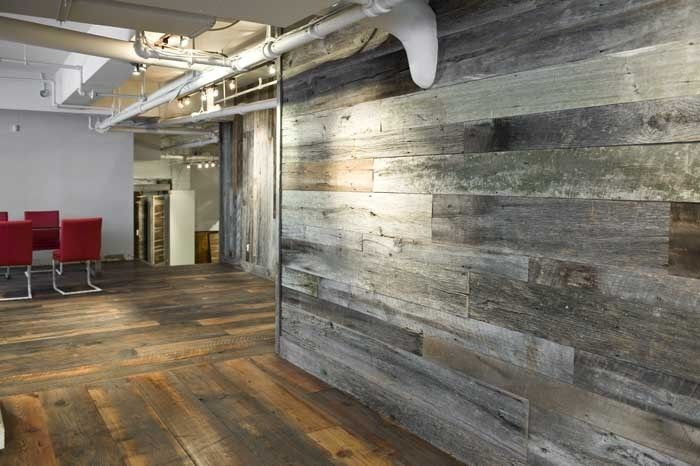 Custom Reclaimed Wood Wall Paneling By Union Square