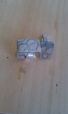 Custom Made Etched Cufflinks