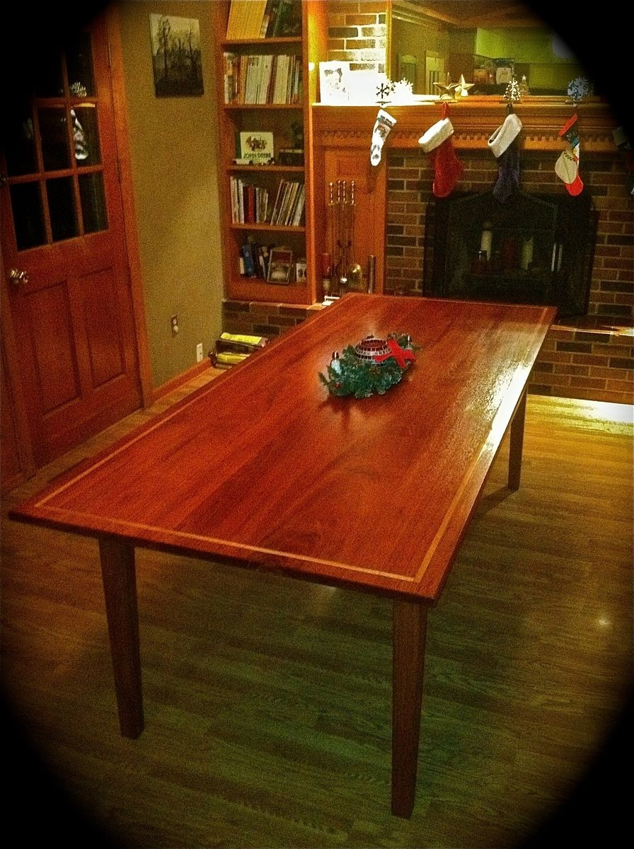 hand crafted dining table by collin 39 s custom furniture custommade