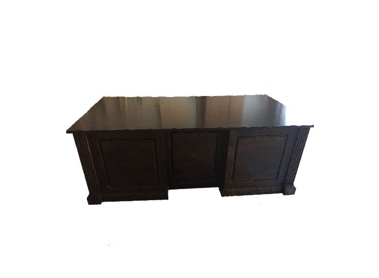 hand crafted classic executive office desk by georgia