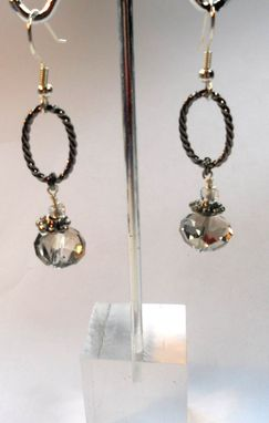 "Custom Made ""Crystal Earrings""-Match For ""Big Bauble"" Necklace"