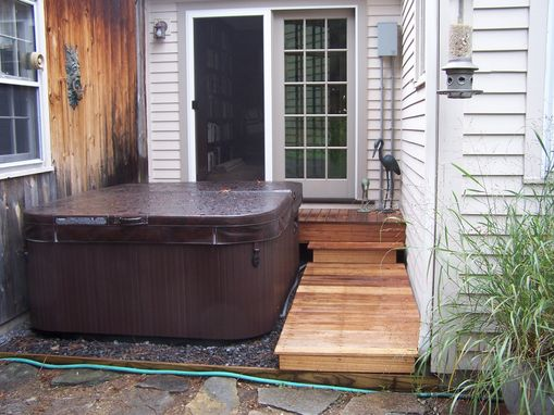 Custom Made New Door For Hot Tub Access