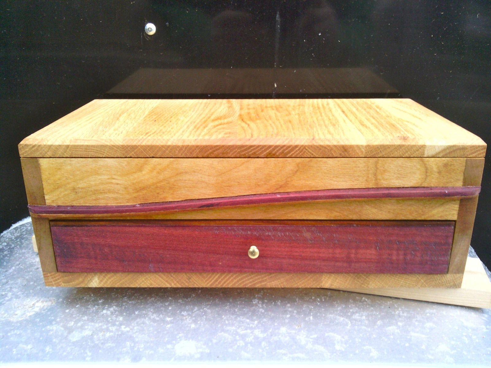 Buy a custom solid wooden jewelry box made to order from for Jewelry box made of wood