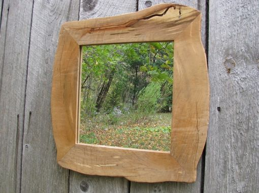 Custom Made Live Edge Mirror Frame