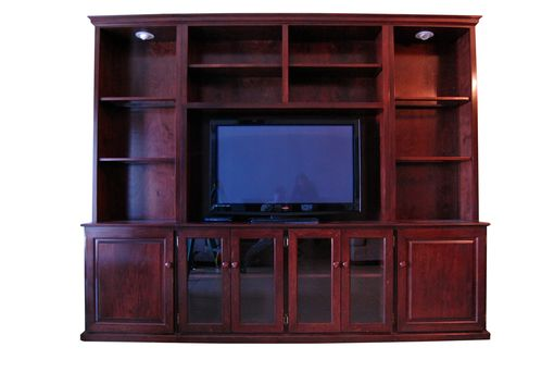 Custom Made Free Standing Entertainment Center