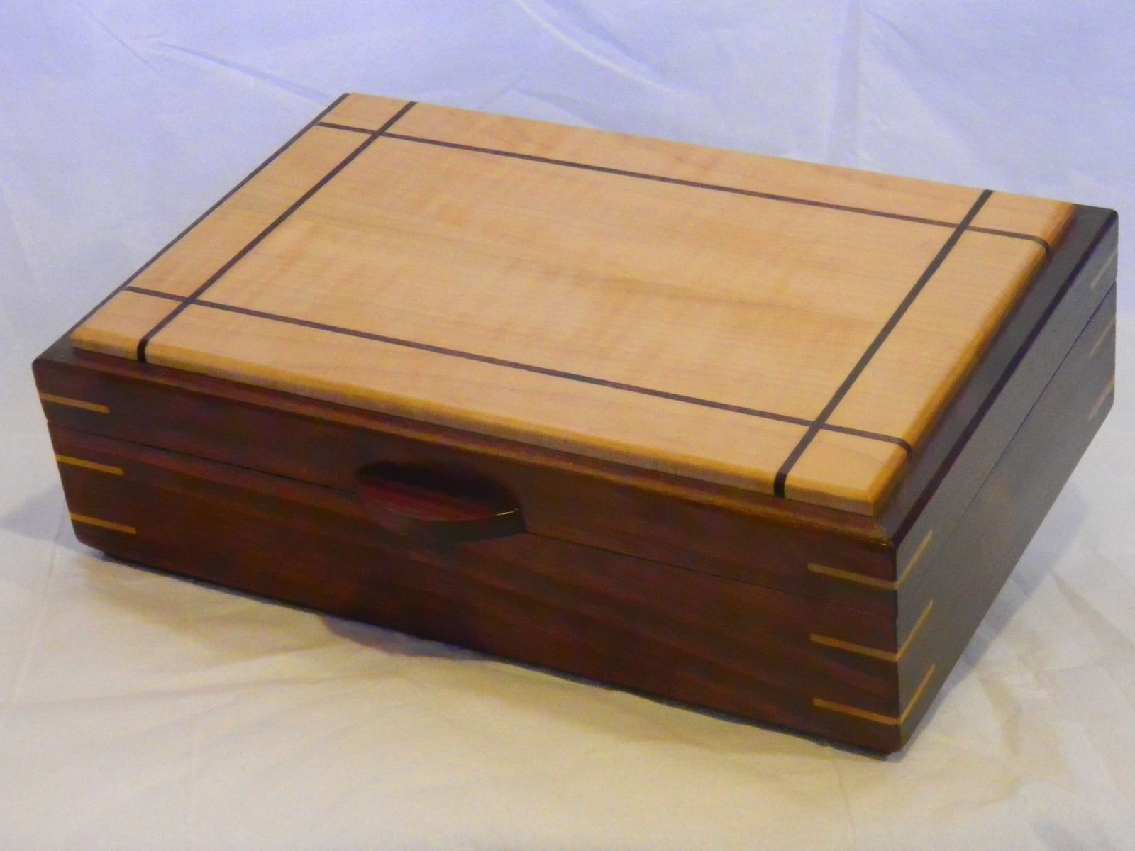 Handmade jewelry box 11 12 by 3gwoodworking for Custom made ring box