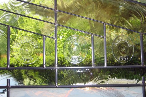 Custom Made Stained Glass Kitchen Window