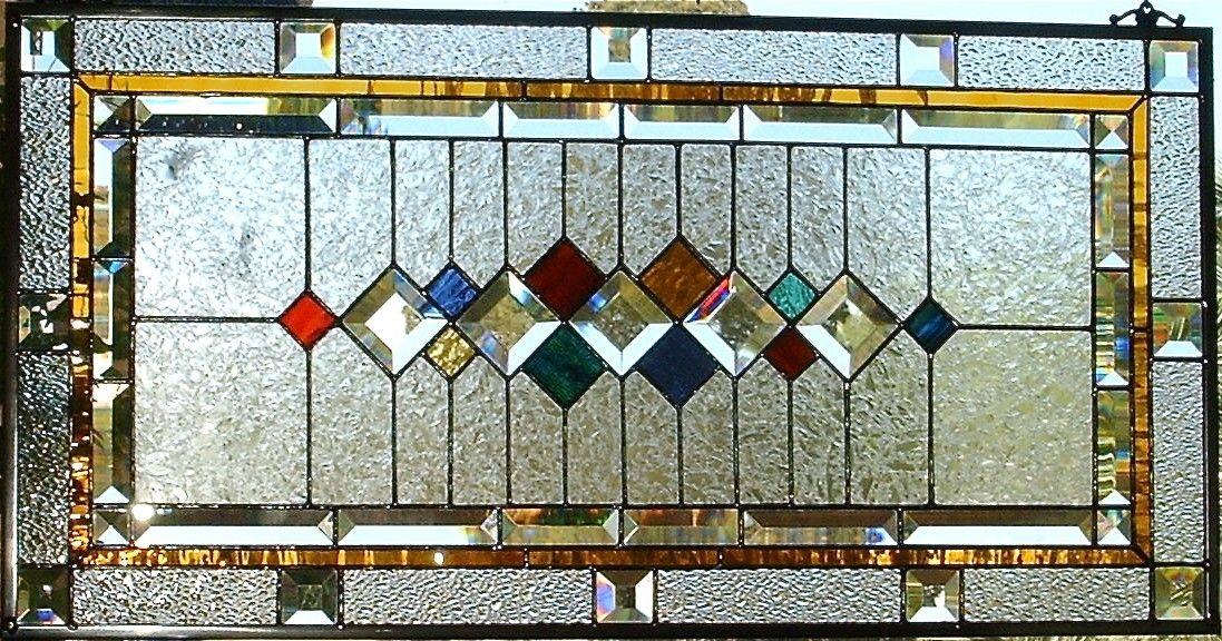 Custom Made Traditional Stained Glass Window/Panel by