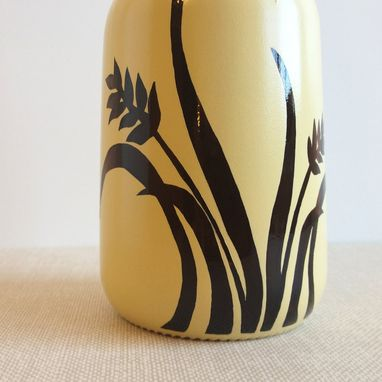 Custom Made Olive Oil Dispenser, Soap Dispenser, Yellow Wheat