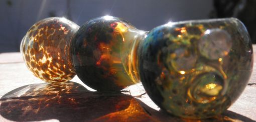 Custom Made Hand-Blown Glass Pipes