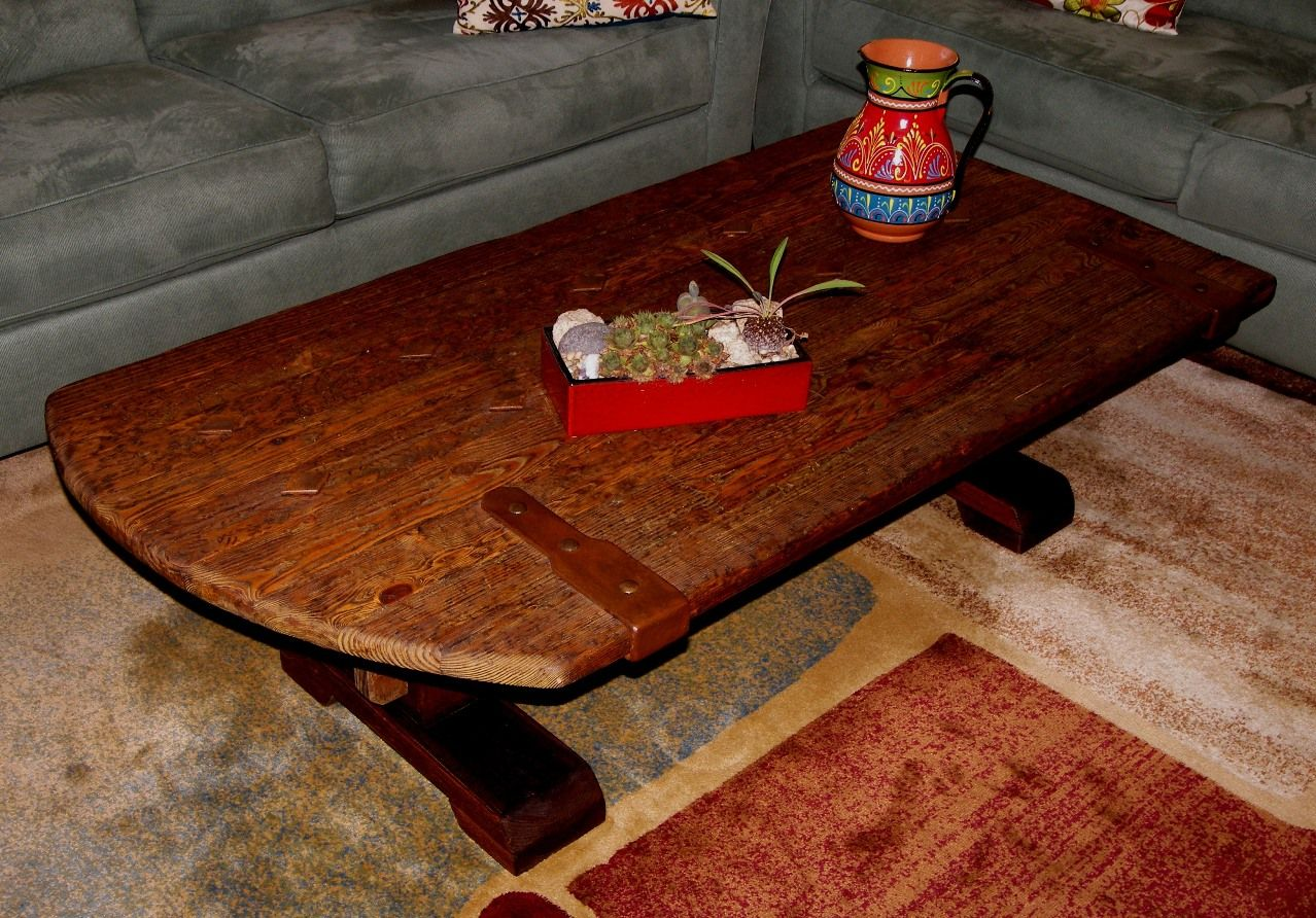 Custom Made Rustic Old World Gate Top Coffee Table By Rustic Furniture Hut