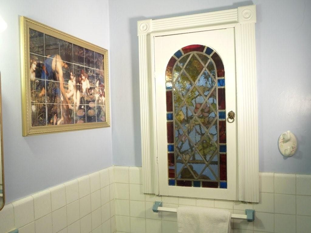 Hand Made Water Resistant Bathroom Ceramic Tile Mural By