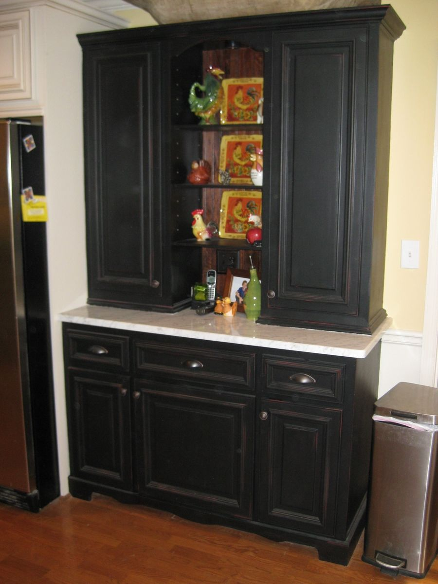 Handmade kitchen hutch by ken witkowski enterprises for Custom made kitchens