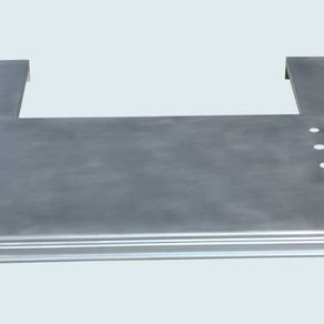 Zinc Countertop With French Edge & Stove Cutout by David Bentz