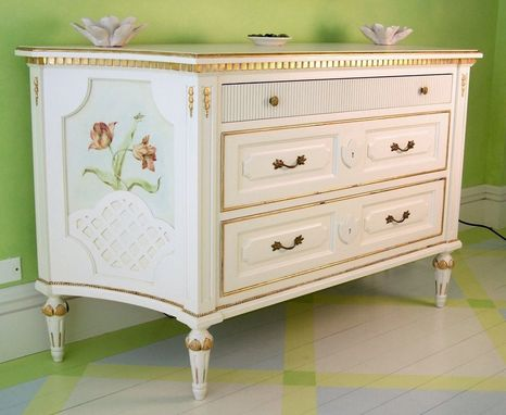 Custom Made Danish Gustavian Commode