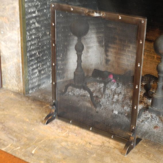 Handmade Fire Screens And Club Fender Benches By Old English Fireplace Benches