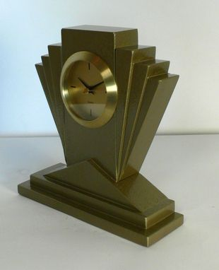 Custom Made Art Deco Time Nouveau Clocks