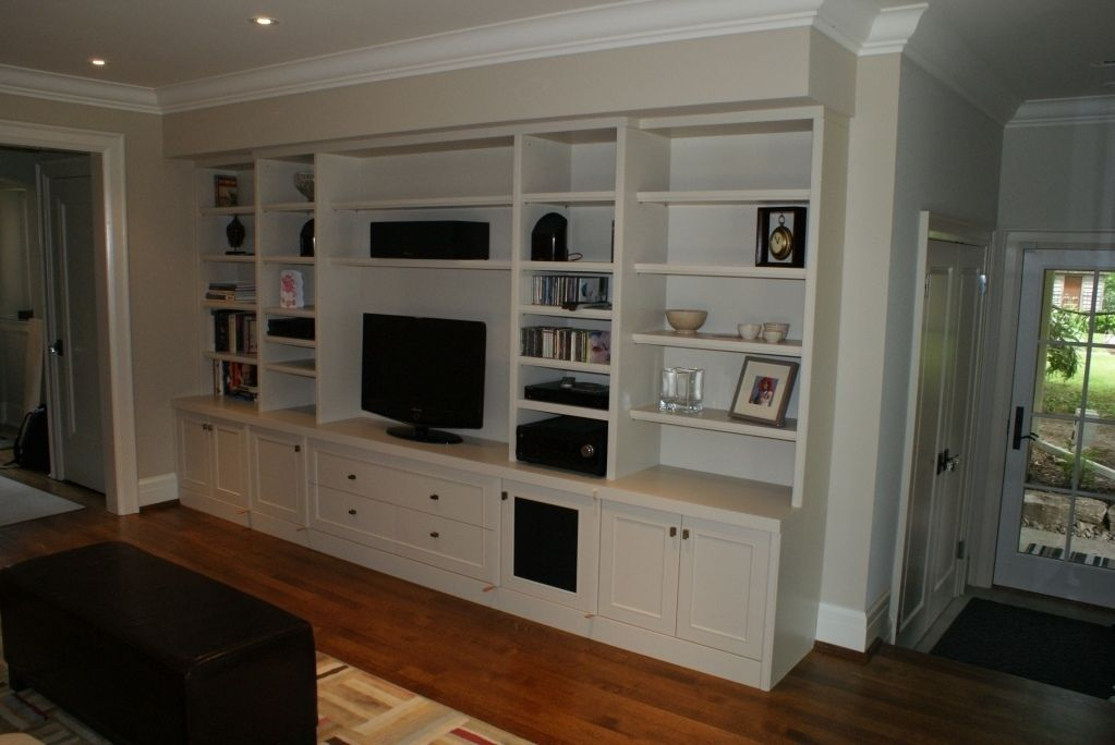 Custom Made Built Video Wall Unit By Wiggers