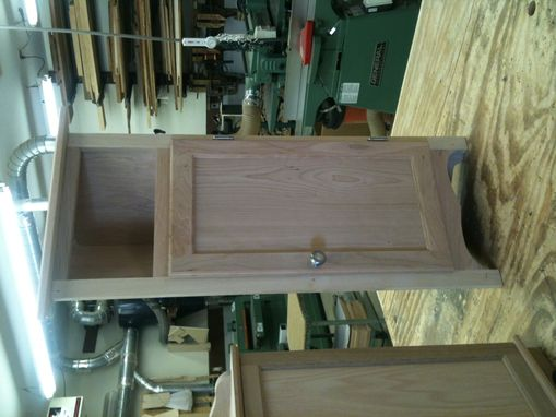 Custom Made Corner Storage/Display Cabinets