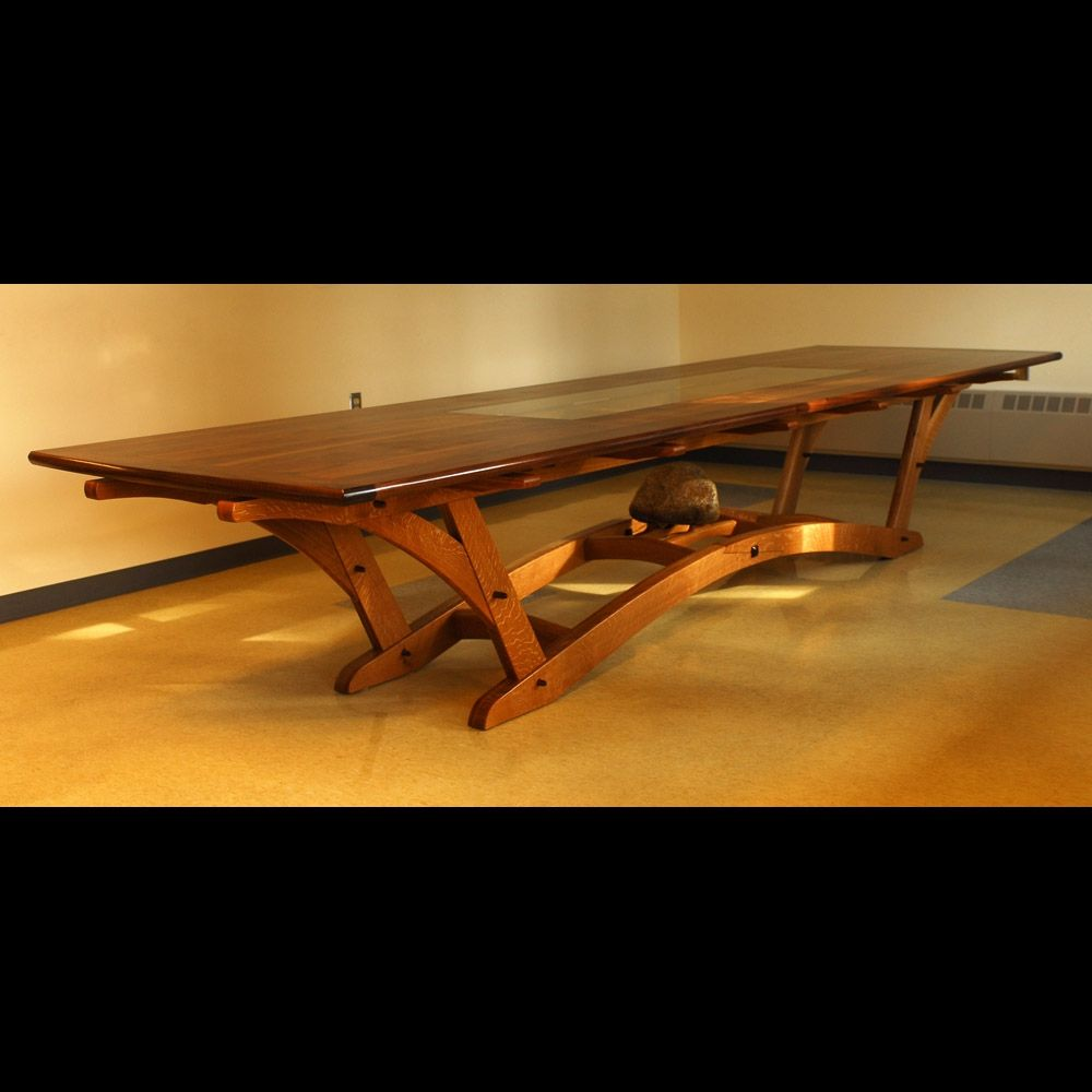 Hand Made Firehouse Table By Blackstone Design