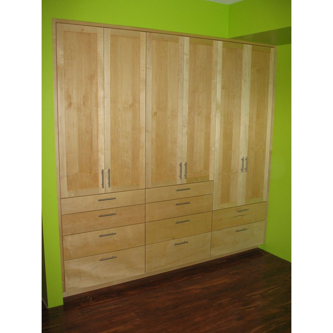Hand Made Built In Closet By Brightworks Custom Furniture