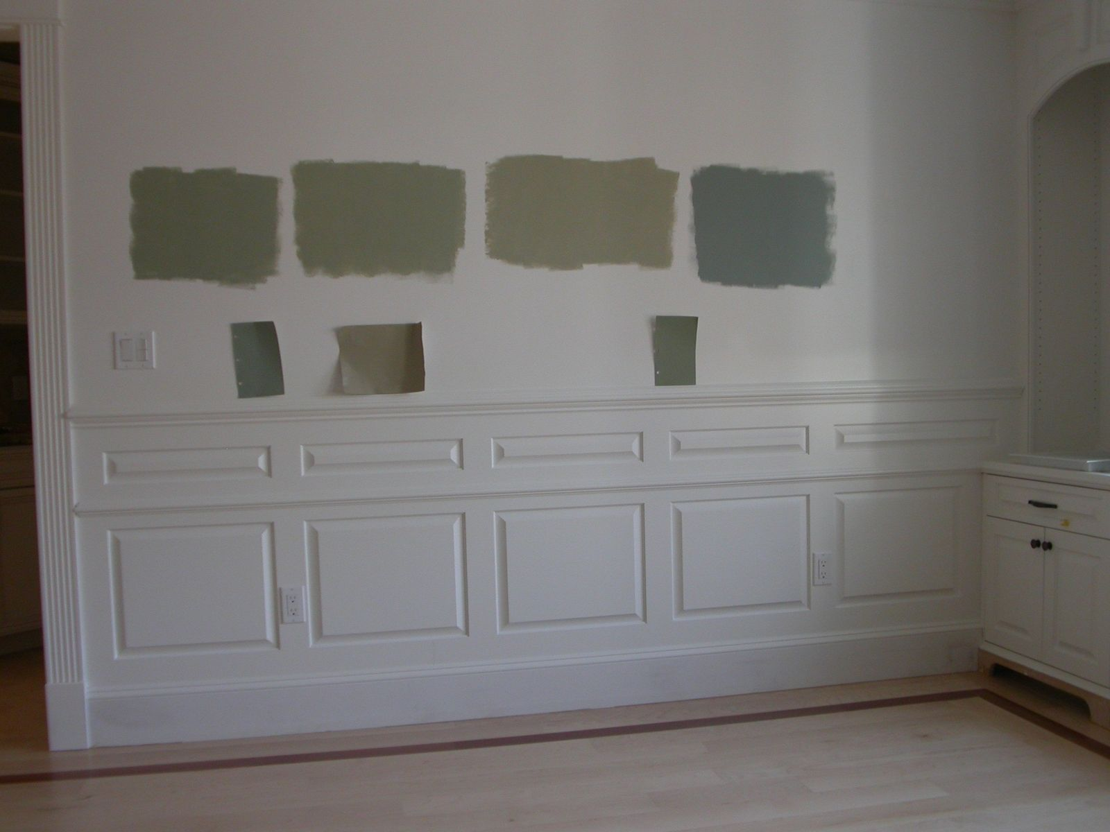 Custom Raised Panel Wainscoting By E R Pion Associates