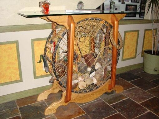 Custom Made Lobster Trap Table