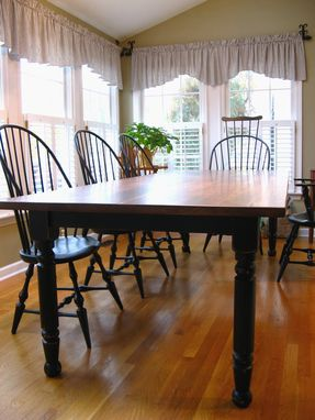 Custom Made Traditional Farm Table