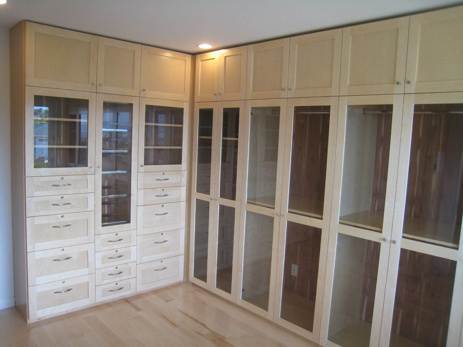 Hand crafted custom closets by michael meyer fine for Custom transom