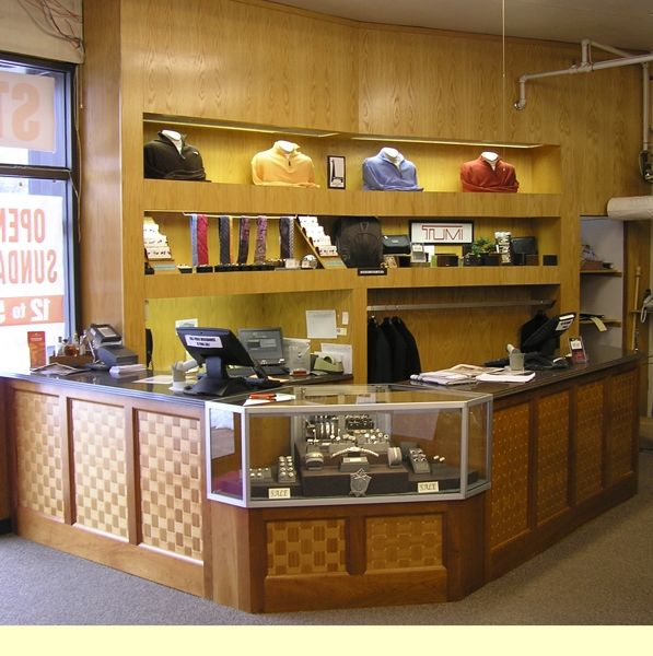 Custom Made Store Counter And Display By Cabinetmaker