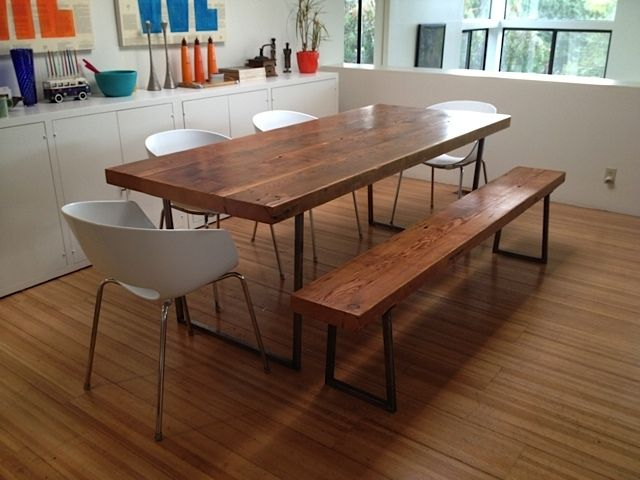 Hand Crafted Reclaimed Wood Dining Tables And Benches Our  : 105837329352 from www.custommade.com size 640 x 480 jpeg 44kB