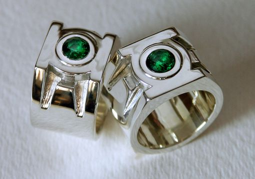 Hand Crafted Green Lantern Ring By Third Dimension