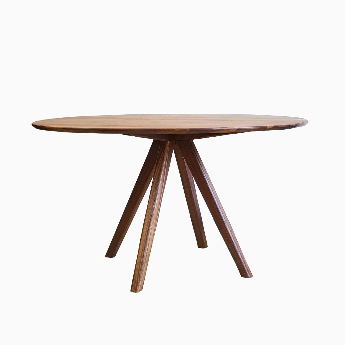 Buy a hand crafted the mila mid century modern solid for Mid century modern dining table