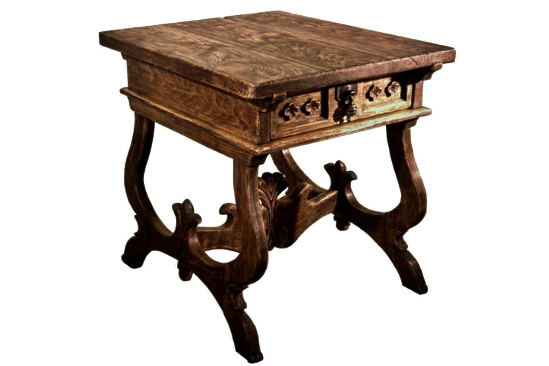 Custom Rustic Tuscany End Table By Accent Products Company