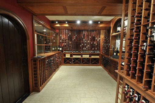 Custom Made Wine Room