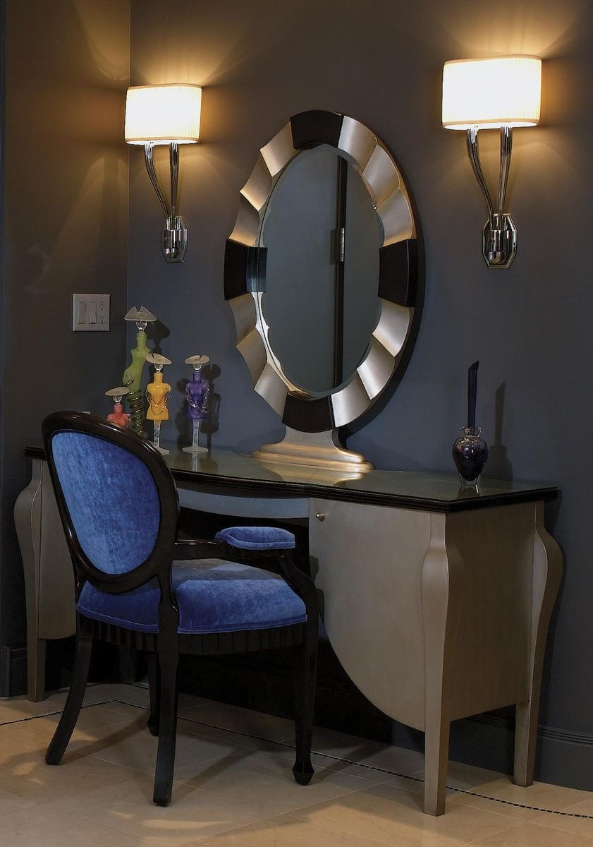 Handmade Dressing Table And Mirror Art Deco By Tilde