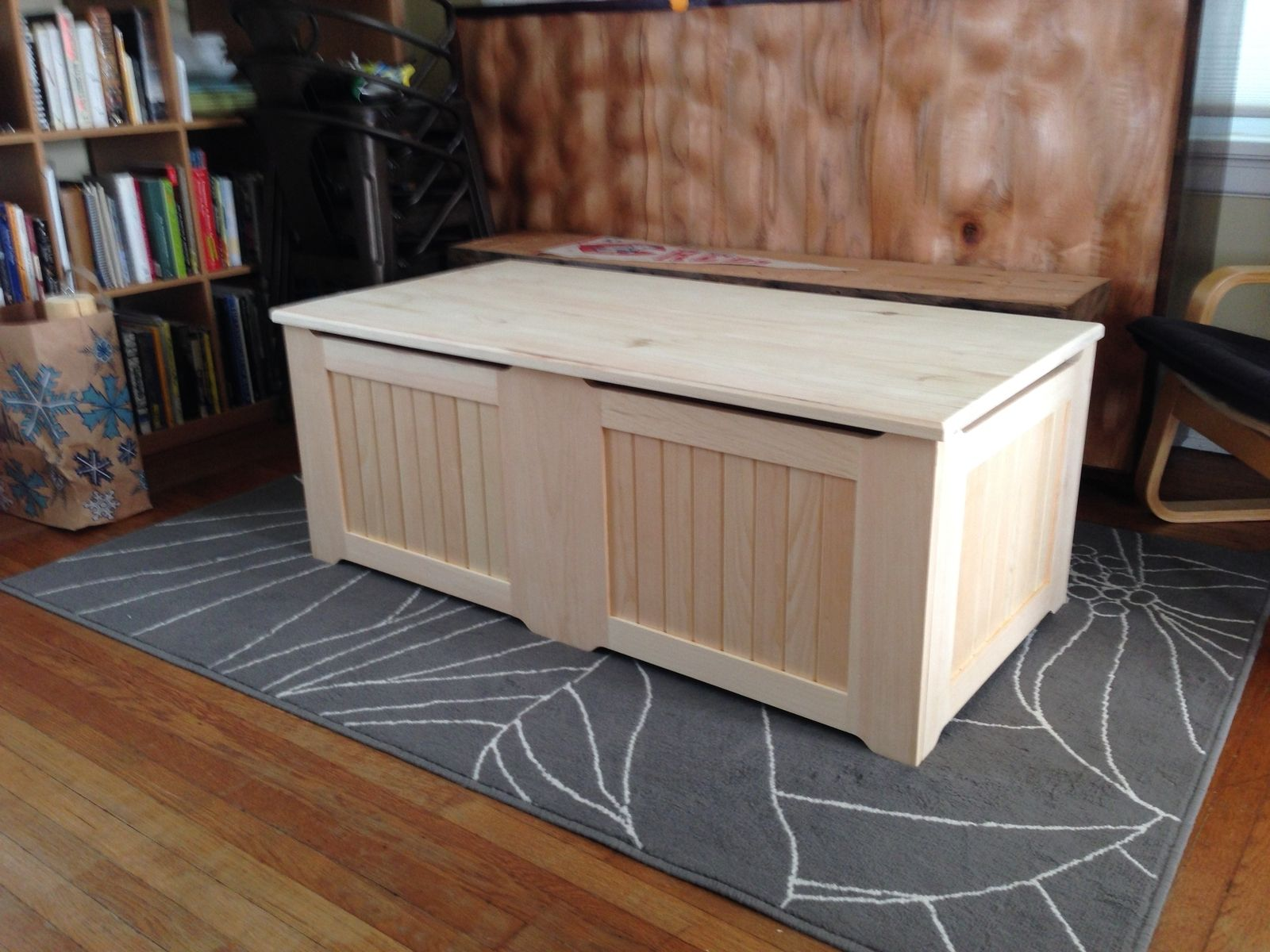Custom Made Toy Chest By Digital Processes Llc